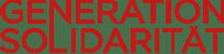 Logo der arte GENERATION SOLIDARITÄT