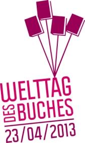 Offitielles Logo zum Welttag des Buches
