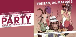 Hoffest am DFJW in Berlin-Mitte am Freitag, 24. Mai 2013