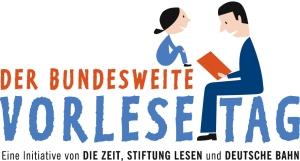 Logo zum bundesweiten Vorlesetag