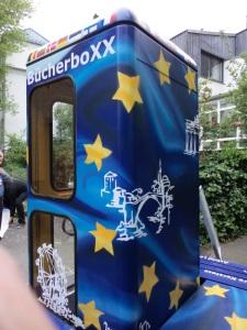 Die neue EuropaboXX mit einer Referenz an die Bookcrosser ;-)
