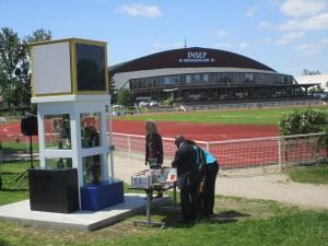 Neue BiblioboXX eingeweiht: Standort INSEP (l'Institut National du Sport, de l'Expertise et de la  Performance – Institut für Hochleistungssport)