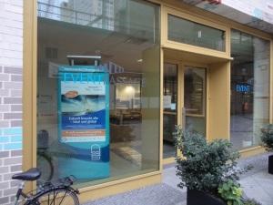 Erststandort der Nachhaltigen BücherboXX GrüneLiga, die zum Netzwerk21Kongress am 4./5. November 2015 in Lübeck stehen wird.