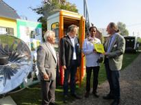 Übergabe der Urkunden in Wietow