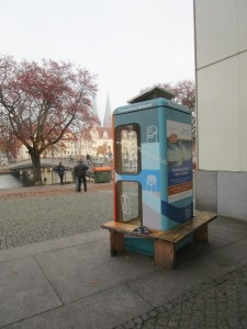 BücherboXX in Lübeck Oktober 2015