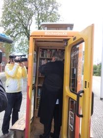 27.4.2016: Eröffnung der BücherboXX in Dessau