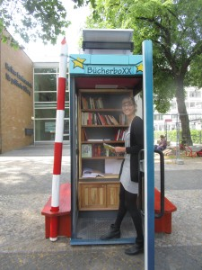 EuropaboXX II vor der Berliner Landeszentrale für politische Bildung