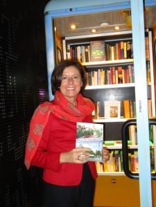 Ministerpräsidentin von Rheinland-Pfalz, Malu Dreyer an der BücherboXX