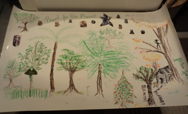 Bäumebilder vom Sommertreffen in Grunewald