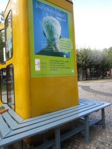 Neue Bank an der Mierendorff-BücherboXX