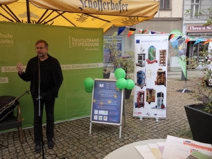 1. Sept 2017 | Kulturbürgermeister Dr. Michael Wieler | Einweihung in Görlitz