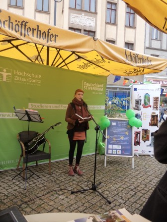 1. Sept 2017 | eigene Poetik der Studentin | Einweihung in Görlitz