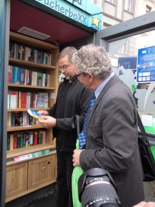 1. Sept 2017 | Einweihung in Görlitz | Kulturbürgermeister Dr. Michael Wieler mit Rektor der Hochule, Professor Dr. Friedrich Albrecht