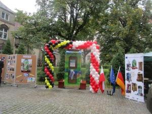 Breslau Einweihung BiblioboXX in Schule N. 5