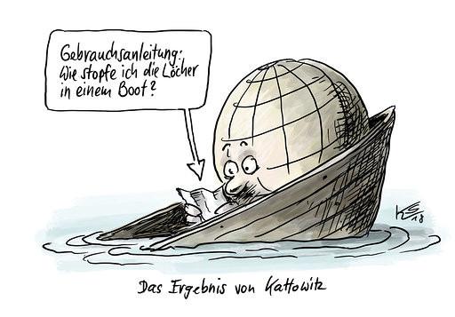 Klaus Stuttmann zum Umweltgipfel in Kattowitz