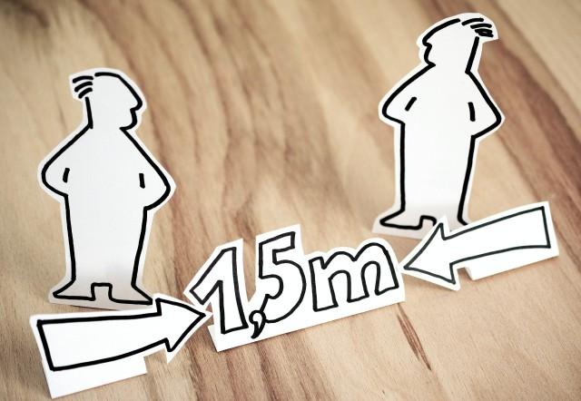 Abstand halten! pixabay congerdesign