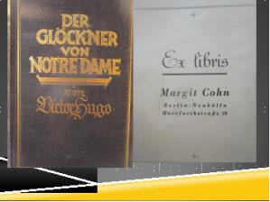 """Ex Libris im Buch von Victor Hugo """"Der Glöckner von Notre Dame"""""""