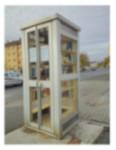 BücherboXX in Aschaffenburg. Französisches Modell